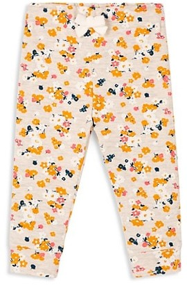 Petit Bateau Baby Girl's All Over Floral Pants
