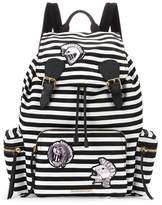 Burberry The Medium Rucksack striped backpack