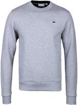 Lacoste Grey Marl Crew Neck Sweater