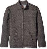 Weatherproof Vintage Men's Quilted Full Zip Sweater