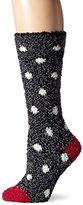 BearPaw Women's Cozy Sock, Charcoal