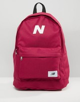 New Balance Mellow Backpack In Red