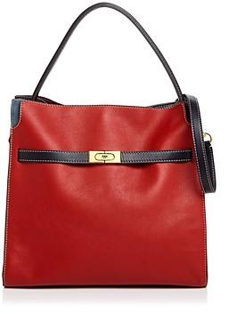 Tory Burch Lee Radziwill Medium Leather Shoulder Bag