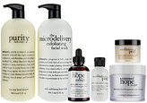 philosophy Super-Size Clean, Bright & Smooth Skincare Kit