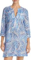Echo Tropez Paisley Tunic Cover-Up