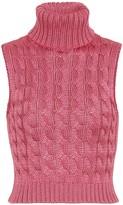 Matthew Adams Dolan Cable-knit sweater vest