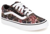 Vans Girl's 'Old Skool Zip' Sneaker