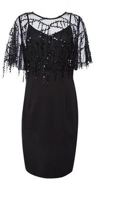 Dorothy Perkins Womens **Showcase Black 'Taffy' Sequin Dress, Black