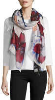 Lord & Taylor Floral Printed Scarf