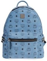 MCM 'Small Stark' Side Stud Backpack - Brown