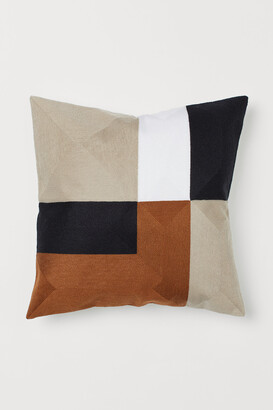 H&M Color-block Cushion Cover