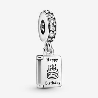 Pandora Birthday Card Dangle Charm