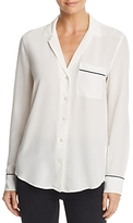 Equipment Keira Pajama Silk Shirt
