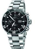 Oris Aquis Chronograph Watch 01774765541540782601PEB