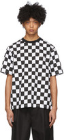we11done White Checkerboard T-Shirt