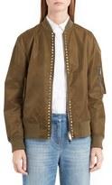 Valentino Women's Rockstud Bomber Jacket