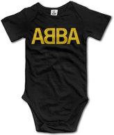 TLK Baby Onesie TLK ABBA Band Logo Babys Baby Climbing Clothes