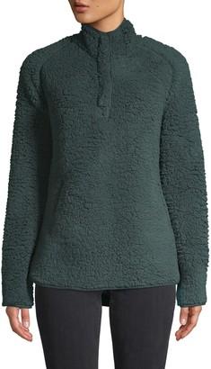 32 Degrees Raglan-Sleeve Faux Shearling Pullover Jacket