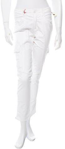 Fabrizio Gianni Low-Rise Straight-Leg Jeans w/ Tags