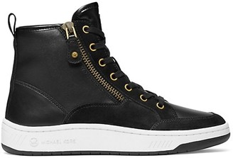 MICHAEL Michael Kors Shea High-Top Leather Sneakers