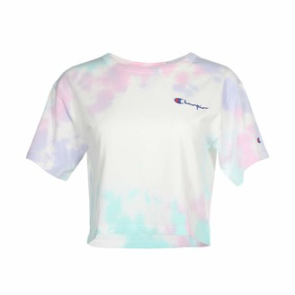 Champion Life Women's Heritage Cropped Tee-Cloud T-Shirt