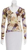 Loro Piana Cashmere-Blend Printed Sweater