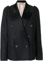No.21 double breasted blazer - women - Polyamide/Acetate/Viscose/Wool - 42