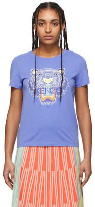 Kenzo Purple Classic Tiger T-Shirt