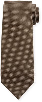 Tom Ford Men's Tonal Dot Silk-Blend Tie