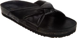 G.I.L.I. Got It Love It G.I.L.I. Knotted Strap Slide Sandals - Pearlia