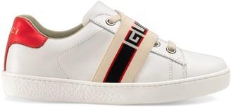 Gucci Children's Ace sneaker with stripe