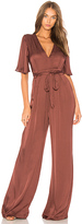 Astr Ella Jumpsuit in Red. - size L (also in M)