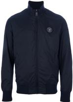 Bikkembergs funnel neck padded jacket