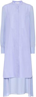 Chloé Striped midi shirt dress