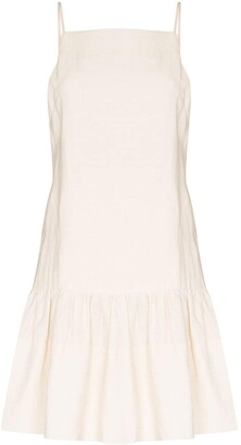 Three Graces Skye linen mini dress
