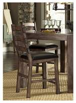 Progressive Boulder Creek Counter Dining Chair - Pecan Veneer (Set Of 2)