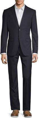 John Varvatos Classic Modern-Fit Wool Blend Suit