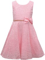 Bonnie Jean Girls 7-16 Sleeveless Princess Seam Lace Dress
