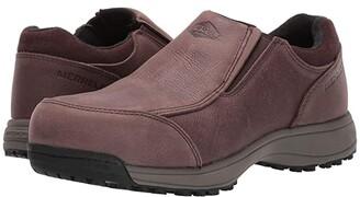 Merrell Work Sutton Moc Steel Toe (Black) Men's Shoes