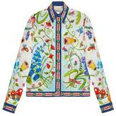 Gucci Unskilled Worker silk shirt
