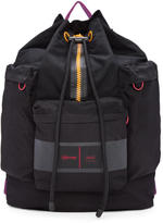 Ami Alexandre Mattiussi Black Eastpak Edition Nylon Backpack