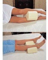 DeluxeComfort Leg Wedge Pillow - Leg Position Pillow - Between The Knees Comfort
