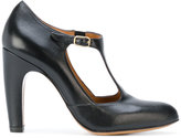 Chie Mihara classic T-bar pumps - women - Leather/rubber - 36