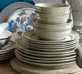 Pottery Barn Cambria 16-Piece Dinnerware Set - Celadon