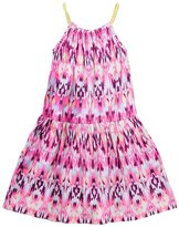 Imoga Girl's Mia Dress - Pink Ikat