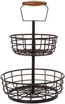 Mikasa Gourmet Basics Adjustable 2 Tier Basket
