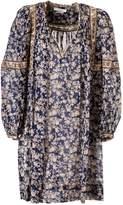 Isabel Marant Oversized V-neck Dress