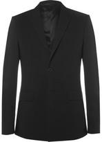 Givenchy Slim-Fit Cotton-Blend Seersucker Suit Jacket