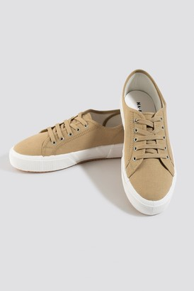NA-KD Basic Canvas Sneakers