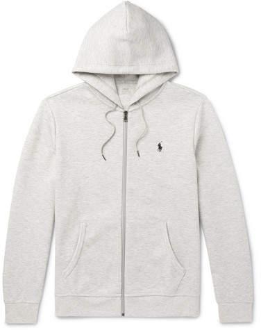9541d8952b1 Melange Jersey Zip-Up Hoodie